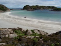 Traigh Ghael Beach Fionnphort Isle of Mull