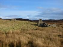 Cro na Ba Glas main township Tireregan Fionnphort Isle of Mull