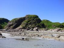 Fort or Dun Ardalanish Beach Isle of Mull
