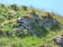 Dun or Fort Ardalanish Beach isle of Mull