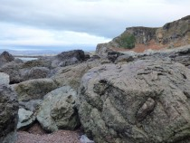 MacKinnon's Cave, boulder beach, Isle of Mull