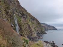 Waterfall,MacKinnon's Cave,Gribun, Mull