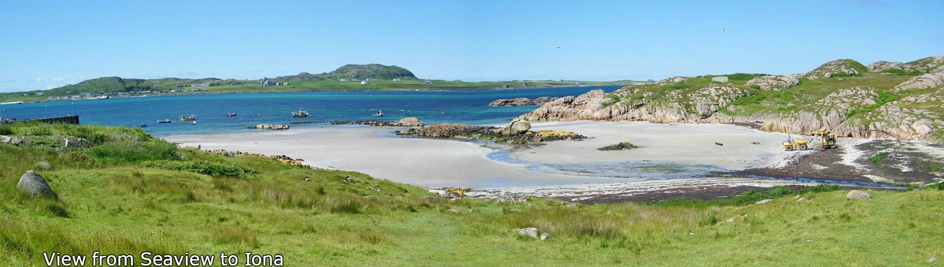 Seaview bed and breakfast,Fionnphort to Iona, Isle of Mull