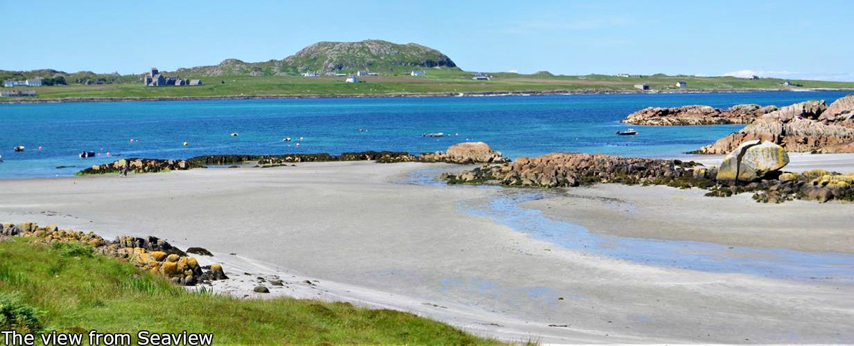 Seaview bed and breakfast, Fionnphort, Isle of Mull