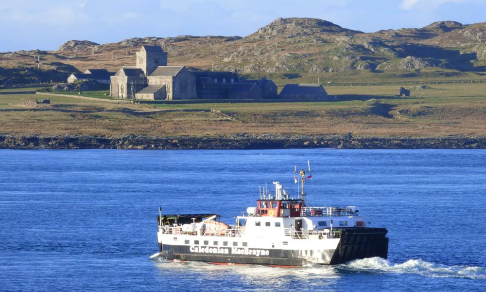 Fionnphort Ferry, Iona,Iona Abbey