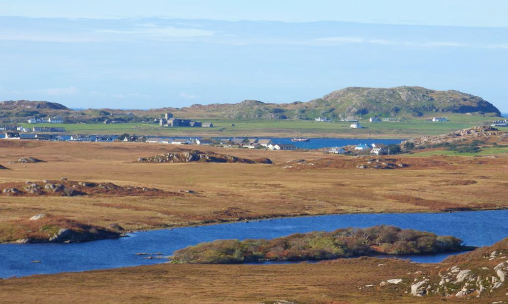 Loch Pottie,Fionnphort,and Iona