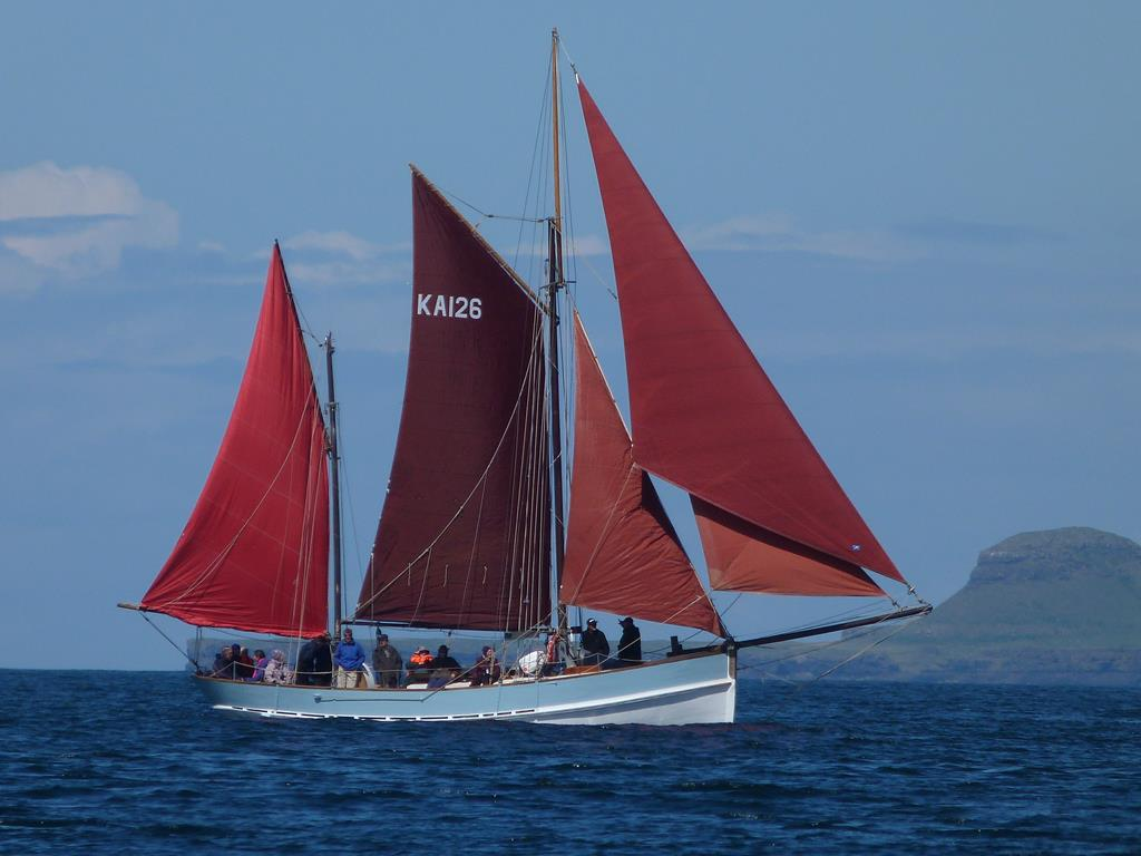 Alternative Boat Hire, Isle of Iona,Birthe Marie