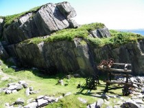 Walking,Iona Marble Quarry,Isle of Iona, Ross of Mull