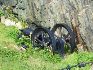 Machinery,Iona Marble Quarry, Isle of Iona