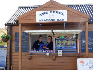 Eating Out in Fionnphort ,The Creel Seafood Bar,Fionnphort,Isle of Mull