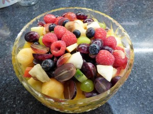 Fruit Salad,food, Seaview, bed and breakfast