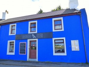 Eating out in Fionnphort, Blackbird Bistro,Bunessan,Isle of Mull