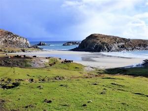 Beaches, Mull, Kilveckeon