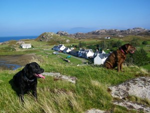 Walking on Mull, Walks on Mull, Kintra, Braighcreich