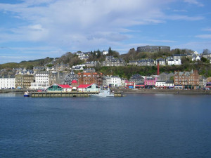 Oban and McCaigs Tower Argyll and Bute Scotland