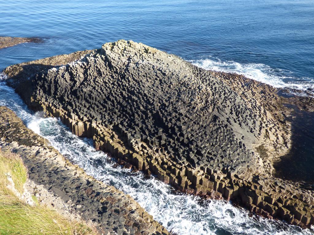 The Herdsman basalt Columns Staffa