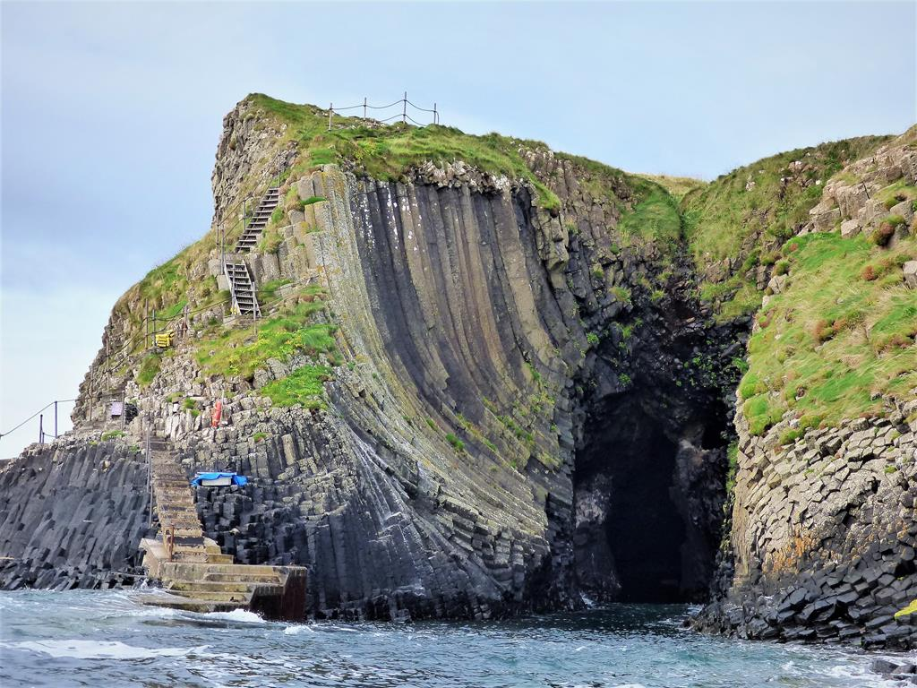 Clamshell Cave, Isle of Staffa