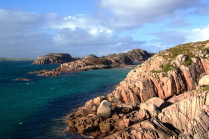 Red Granite, Fionnphort, Isle of Mull