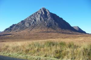 Buachaille Etive Mor, Stob Dearg Glen Coe Scotland