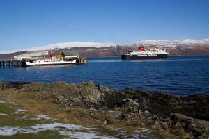 MV Isle of Mull Craignure Mull