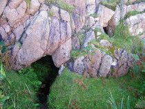 Cave of the Dead, Tor Mor, Iona chiefs and Kings