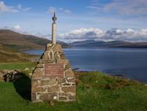 Daisy Cheape Memorial Burg Ardmeanach Isle of Mull