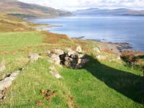 Dun Buirg Iron Age Fort Burg