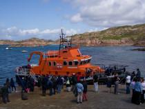 RNLI Lifeboat Fionnphort Mull