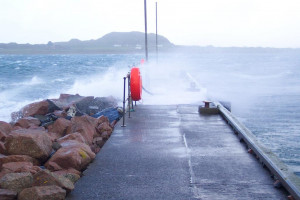 Gales Fionnphort Pier Isle of Mull