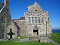 St Johns Cross Iona Abbey Columbas Shrine