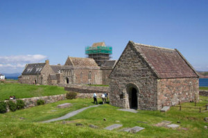Iona Abbey and St Orans Chapel-1