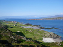 Isle of Iona beaches abbey and village