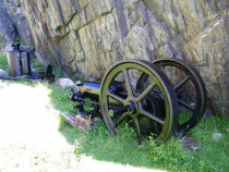Iona Marble Quarry machinery