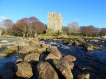 Moy Castle,Maclaine Stronghold,Loch Buie Isle of Mull