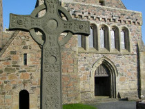 St Johns Cross Iona Abbey