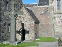 St Columba's Shrine Iona Abbey Isle of Iona