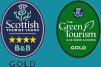 Visitscotland 4 star gold,Green Gold
