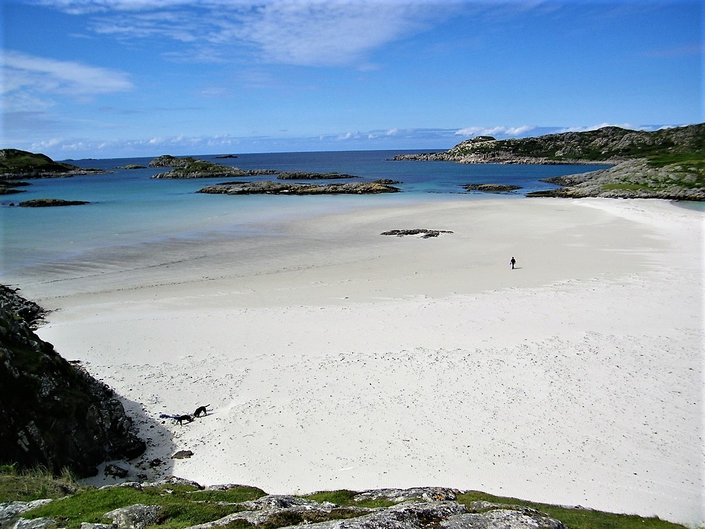 Beaches, Mull, Knockvologan