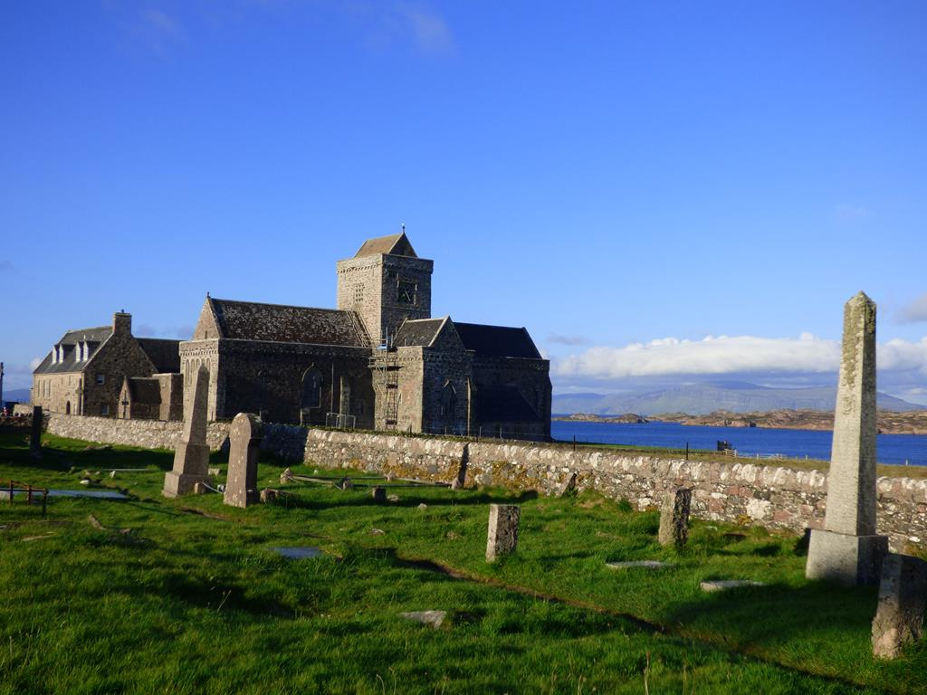 Iona Abbey,Relig Oran,Isle of Iona