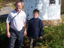 Isle of Erraid signal staion Mull
