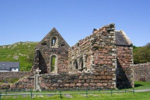 Iona, Walks on Iona, Walking on Iona, Iona Nunnery, Isle of Iona