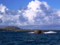 Isle of Erraid sound of Iona Isle of Iona
