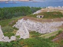 Erraid Stevenson lighthouse quarry