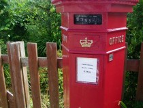 Victorian Mailbox Post Office Isle of Iona