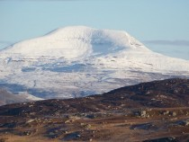 Walking,Munro Ben More Mull from Tor Fhada Ross of Mull