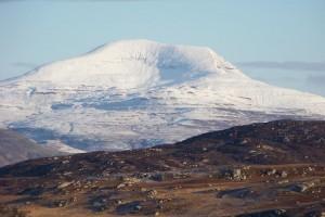 Munro, Ben More, Mull, Ross of Mull Isle of Mull