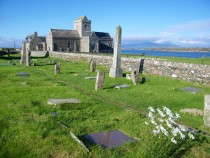 St Orans Graveyard Iona Abbey Isle of Iona