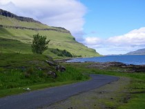 West road Gribun Cliffs Isle of Mull