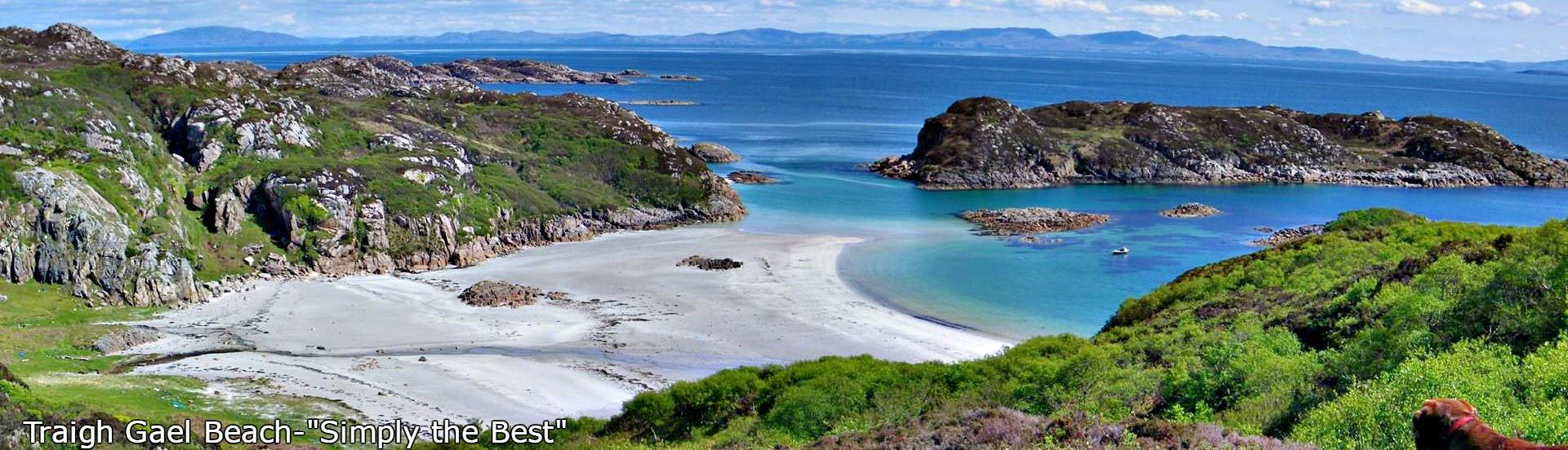 Traigh Gael Beach,Isle of Mull
