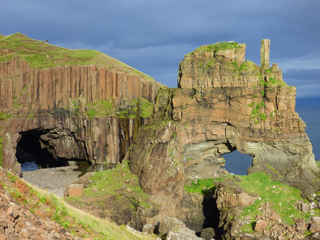 Mull, Walks, Carsaig Arches, Isle of Mull